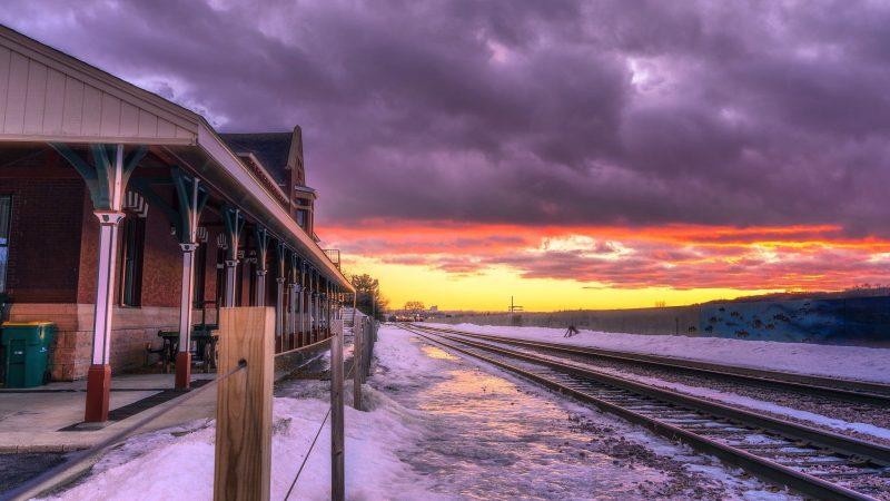 Depot Sunset