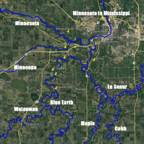 adopt a river map